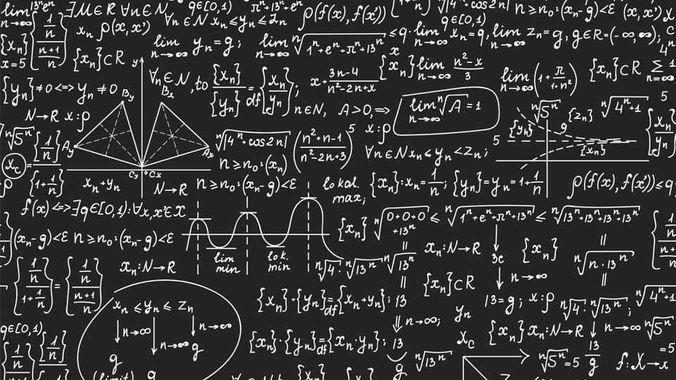 Maths tableau noir